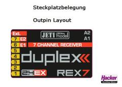 DUPLEX 2.4EX Empfänger REX 7