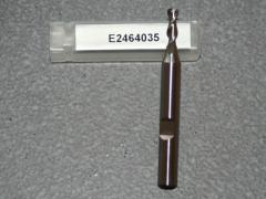 HSSE-CO8, 2 Schneiden 42° Rechtsspirale kurz 3.50mm, unbeschichtet