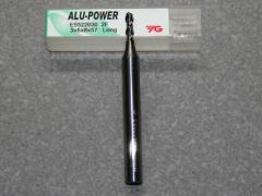 Alu-Power VHM 2-Schneider Alu,  3.00mm, RSP 45°, Stirnschn.