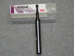 HSSE-CO8-TiAIN Fräser 2Z, 3.00mm, extra lang.