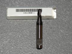 Radiusfräser Ø 4.00mm - 3-Schneider - TiAIN