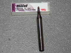 Radiusfräser Ø 3.00mm R=1.50mm, 6mm Schaft, TiAIN