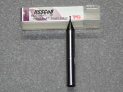 HSSE-CO8-TiAIN Fräser 2Z, 1.00mm