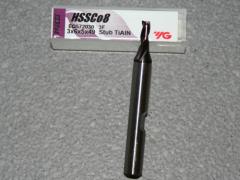 HSSE-CO8 - 3-Schneider - TiAIN - Ø 3.00mm