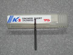 VHM 2-Schneider 2.00mm,  K-2, Kurz.