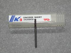 VHM Fräser, 4Z,2.00mm, kurz, K-2 Beschichtet