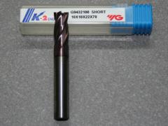 VHM Fräser, 4Z, 10.00mm, kurz, K-2 Beschichtet