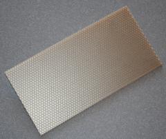 GFK Wabenplatte 500 x 250 x 7,3 (0,125 m²)