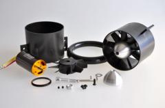 Mini Fan evo Impeller / HET 2W20, komplett fertig montiert, feingewuchtet und harmonisch abgestimmt