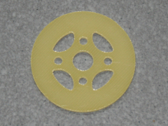 GFK Motorspant passend zu axi 22xx d=37 mm