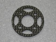 CFK Motorspant passend zu axi 22xx d=38 mm t=3 mm
