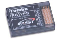Empfänger R-617 FS 2,4 GHz, Futaba, Ripmax