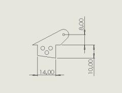 10 Ruderhörner RH22 in 2mm GFK