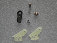 1 Kugelgelenk Ruderhorn RH22 M3 in 2,00mm GFK