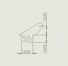 10 Ruderhörner RH25 in 2mm GFK
