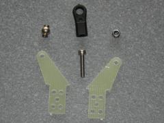 1 Kugelgelenk Ruderhorn RH45 M3 in 2,00mm GFK