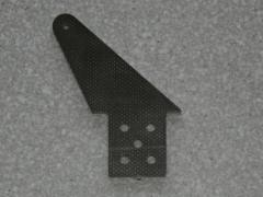 10 Ruderhörner RH55 in 2,00mm GFK schwarz