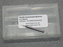 VHM Bohrer Micro Ø 0.30mm