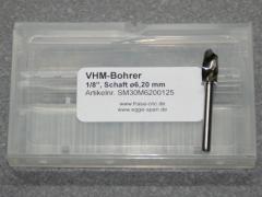 VHM-Bohrer mit 1/8 Schaft Ø 6.20mm