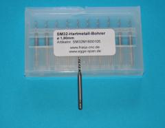 SM 32 Hartmetall-Bohrer Ø 1.80mm