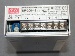 Schaltnetzteil MeanWell SP200, 200Watt, 4,2A