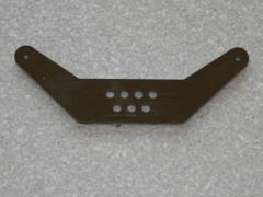 1 Seitenruderhebel SRH75 in 2,00mm GFK schwarz