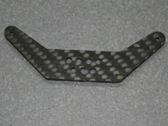 1 Seitenruderhebel SRH75 in 2,00mm CFK