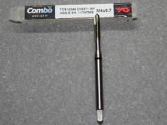 HSS-E, M4 Gewindebohrer ISO Gewinde DIN 13  für Aluminium