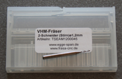 VHM-Fräser 2-Schneider (Stirn) Ø 1.20mm