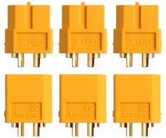 3 Paar Stecker + Buchse Goldkontakt XT60
