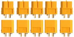 5 Paar Stecker + Buchse Goldkontakt XT60