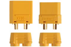 5 Paar Stecker + Buchse Goldkontakt XT90