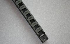 Energiekette 15 x 15mm, Radius 28mm, inkl Anschl.