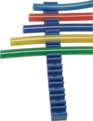 Schlauchklemmleiste 10 Fach für 4-5 mm Schlauch