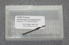 VHM-Fräser 2-Schneider (Fisch)  Ø 2.50mm