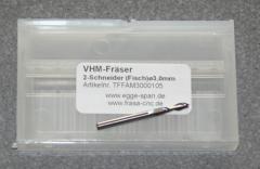 VHM-Fräser 2-Schneider (Fisch)  Ø 3.00mm